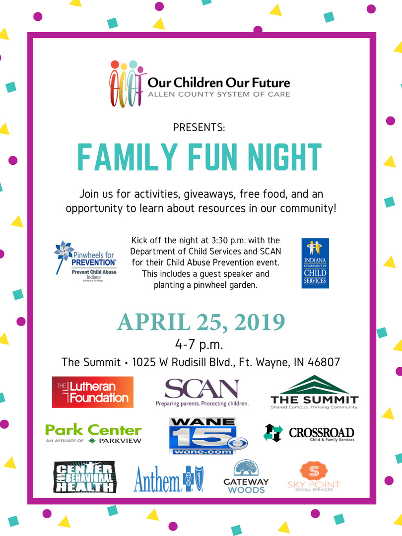 2019 Family Fun Night