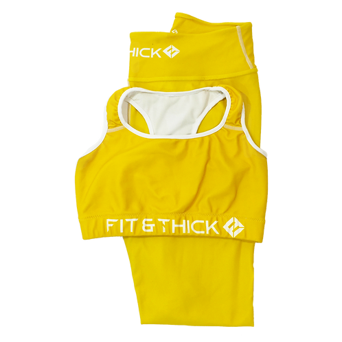 ENERGY YELLOW WORKOUT SET