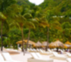 Sugar Beach Resort St. Lucia Caribbean