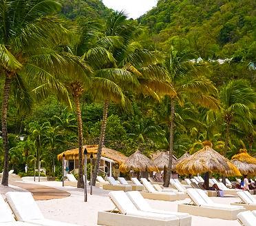 Sugar Beach Resort St. Lucia Caribbean