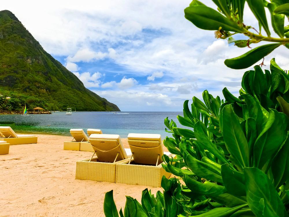 Sugar Beach Resort St Lucia Caribbean