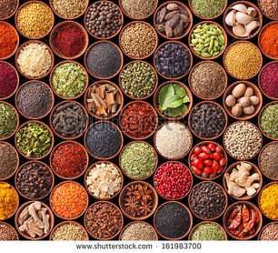 Herbs and spices: because tasty food is necessary