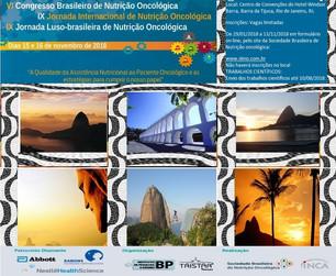 VI Congresso Brasileiro de Nutrição Oncológica