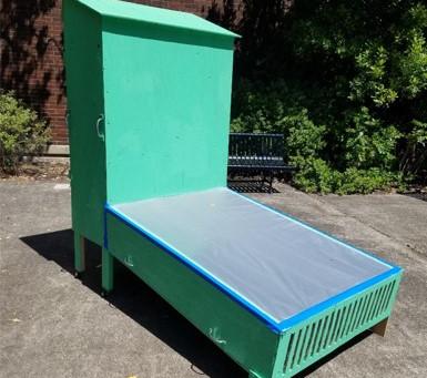 Affordable Solar dehydrator