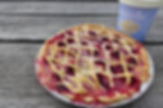 Apple and raspberry pie.JPG