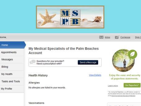 Features of Patient Portal