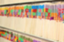 MSPB Compliance picture of files in file room in doctor office