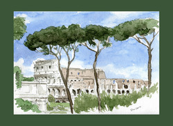Colosseo visto dai Fori