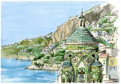 Amalfi, panoramica