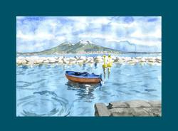 Golfo col Vesuvio