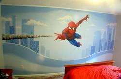 Cameretta con Spiderman