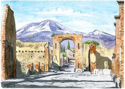 Pompei Arco di Caligola