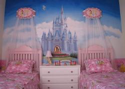 Cameretta con castello fantasy