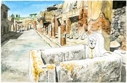 Pompei Via dell'Abbondanza