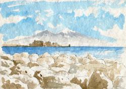 Golfo con Castel dell'Ovo