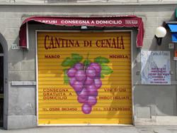 Serranda col grappolo d'uva