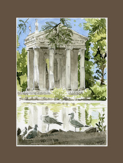 Tempio di Esculapio di Villa Borghes