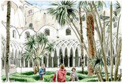 Amalfi, Duomo cortile