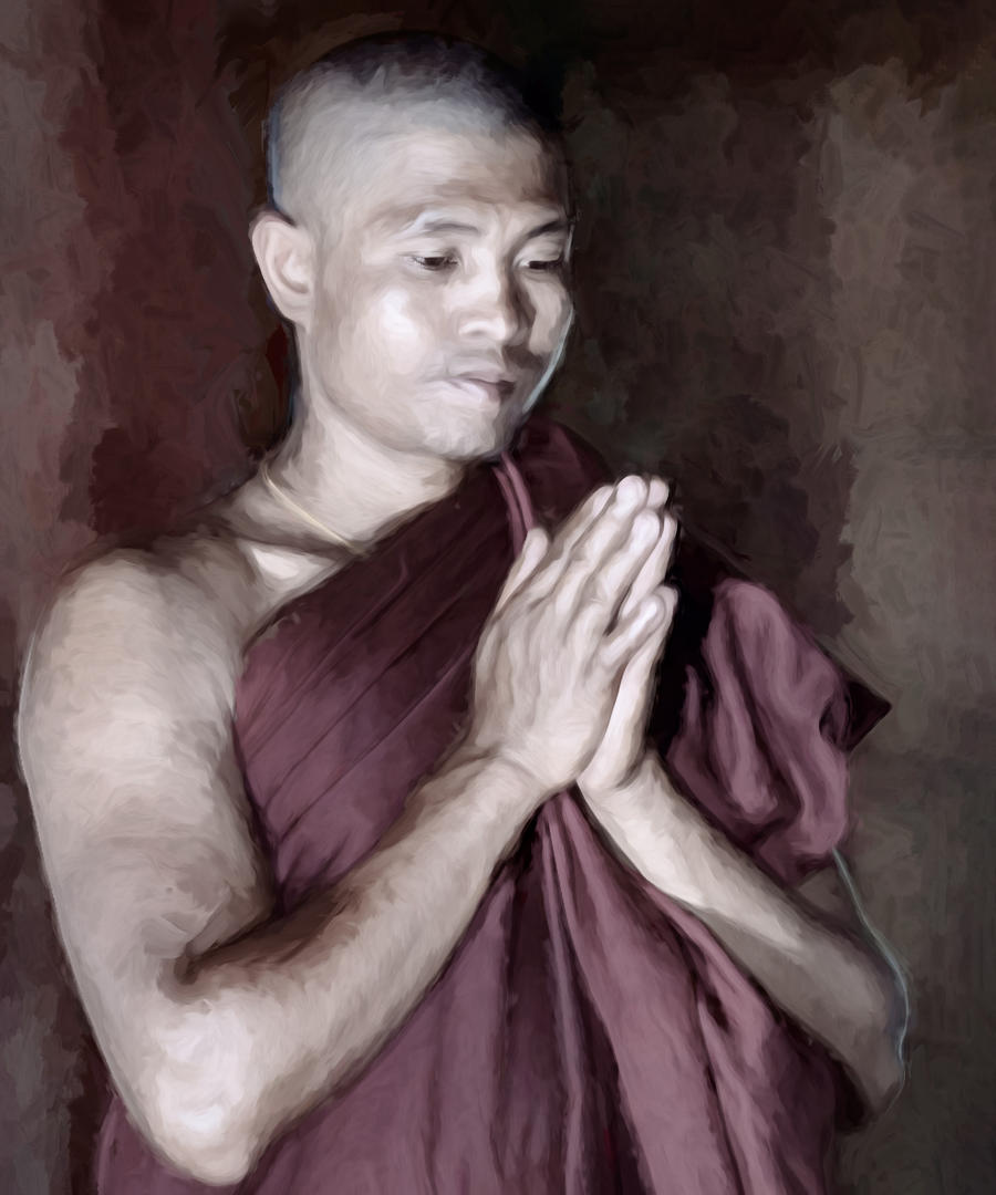 Ilona_1 Praying Monk