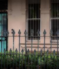 Aqua Green Door
