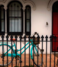 Bicycle on the Porch