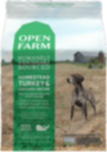 Open Farm Dog Kibble Homestead Turkey
