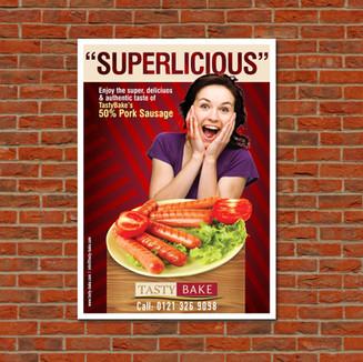 Tasty Bake Poster
