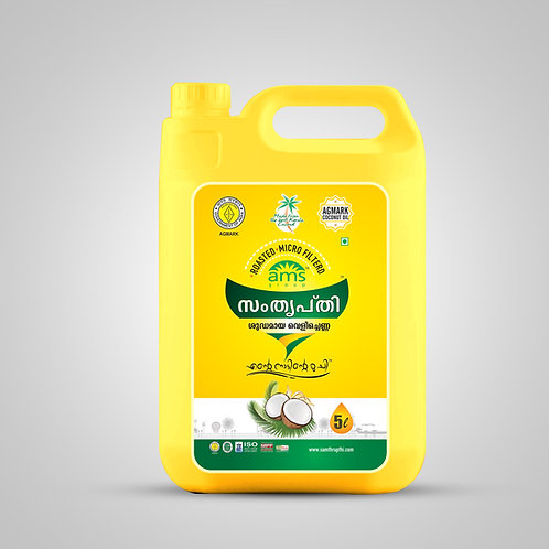 Samthrupthi Pure Coconut Oil Can 5ltr