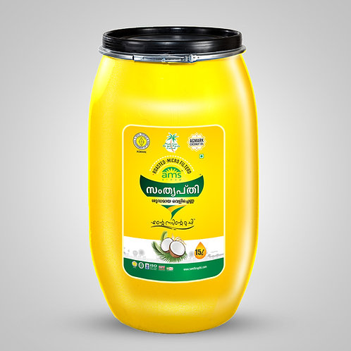 Samthrupthi Pure Coconut Oil Can 15Ltr
