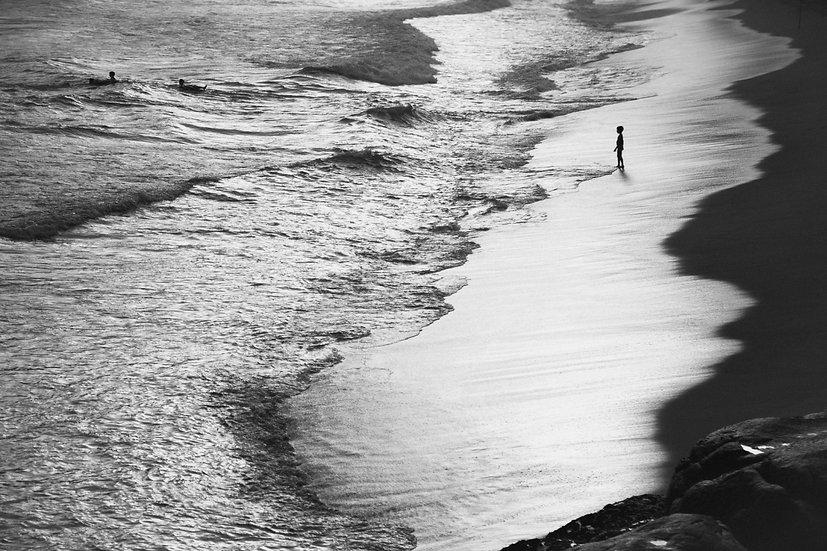 Crianças ao mar 1