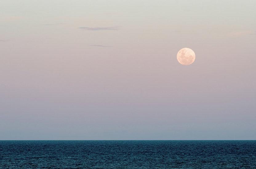 Nascer da Lua em Cumuruxatiba
