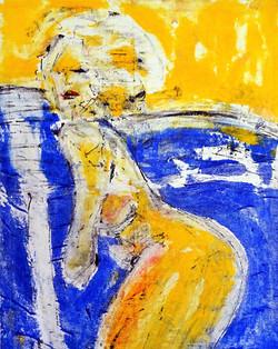 ArtGirl_80x100 cm_Acryl auf Leinwand_201