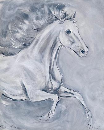"'Lavish' A One off original painting on canvas 20"" x 24"""""