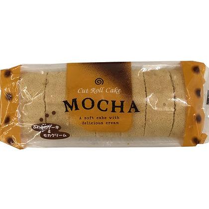 Cut Roll Cake-Mocha