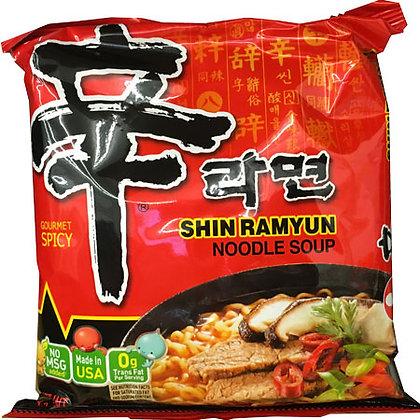 Shin Ramyun Noodle Soup