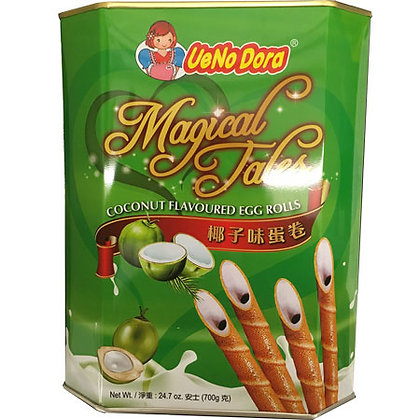 Magical Tales Coconut Flavored Egg Rolls