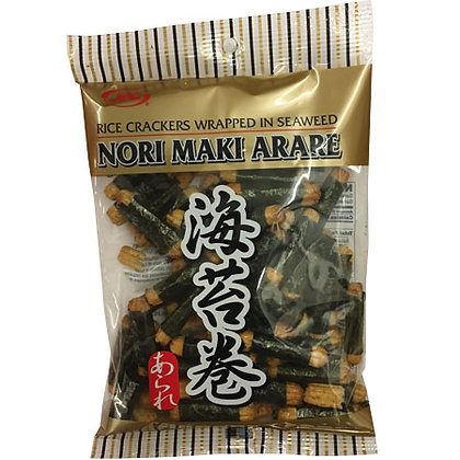 Rice Crackers Wrapped in Seaweed