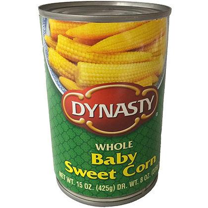 Whole Baby Sweet Corn