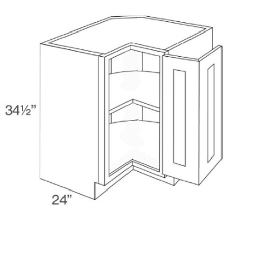 "SE BLS33 33"" 90° Base Corner No Trays"