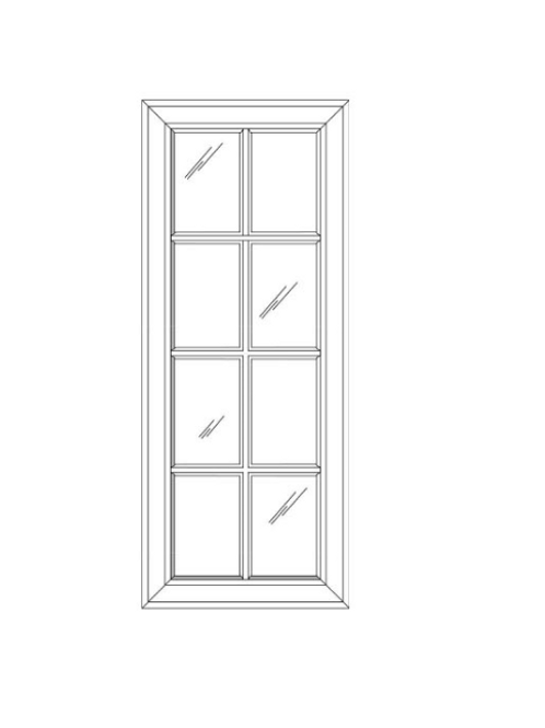 SW GD1542 Glass Door