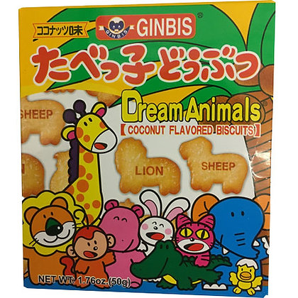 Dream Animals Coconut Flavored Biscuits