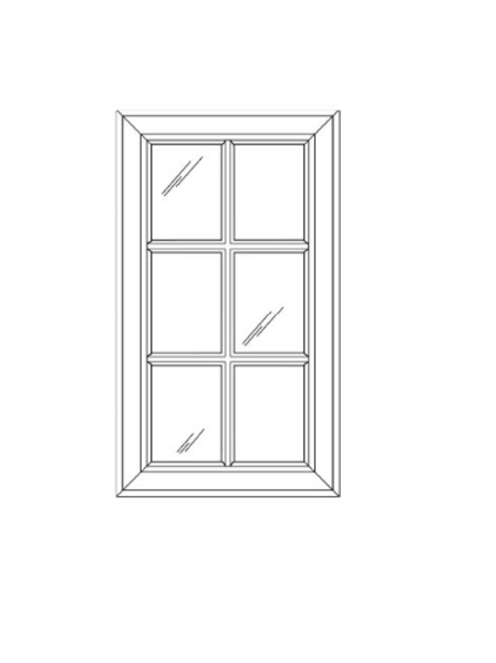 SE GD1530 Glass Door