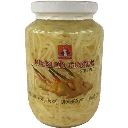 Pickled Ginger Stripped