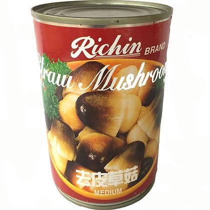Richin Whole Peeled Straw Mushroom