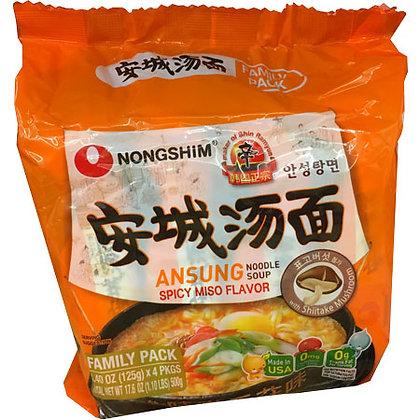 Spicy Miso Flavor Noodle Soup