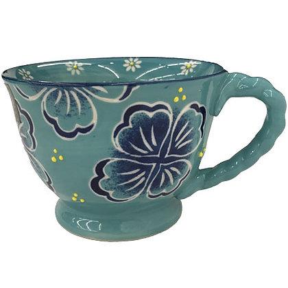 Flowered Mug