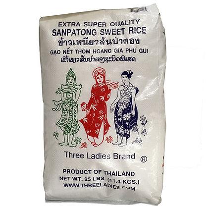 Three Ladies Brand Sanpatong Sweet Rice