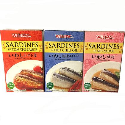 Wel-Pac Sardines