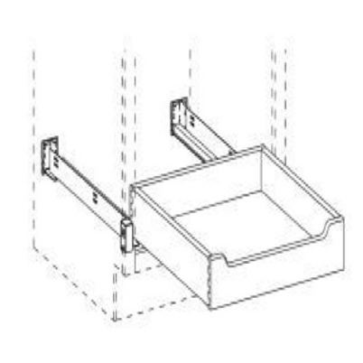 SW ROD24WRUN Roll-Out Tray