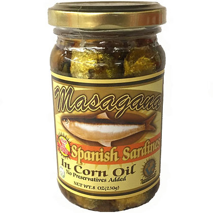 Masagana Spanish Sardines in Corn Oil